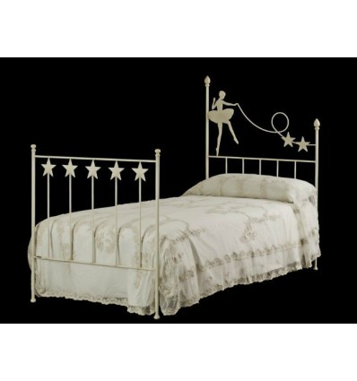 cama de forja bailarina