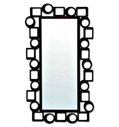 Recibidores modernos tendencias en decoraci n forja for Espejos con marco metalico