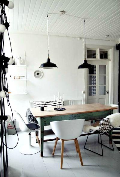 Mesas rústicas para un hogar nórdico  forja hispalense blog