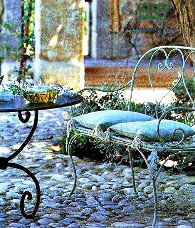 Sillas De Jardin Para Terrazas Rusticas Forja Hispalense Blog - Sillas-de-forja-para-jardin