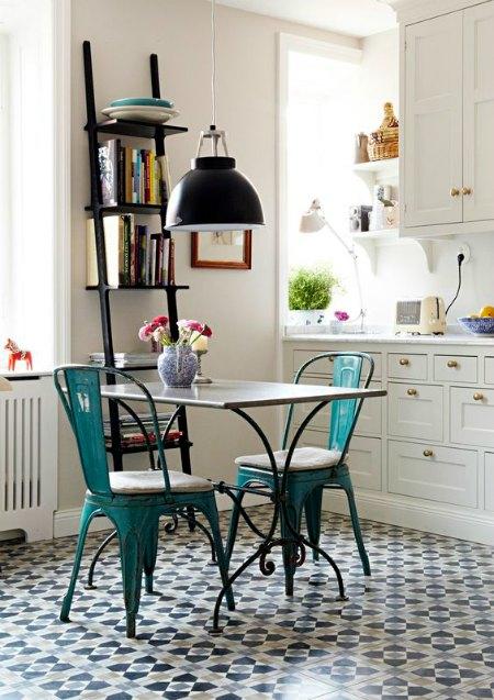 mesas rusticas de forja para cocina