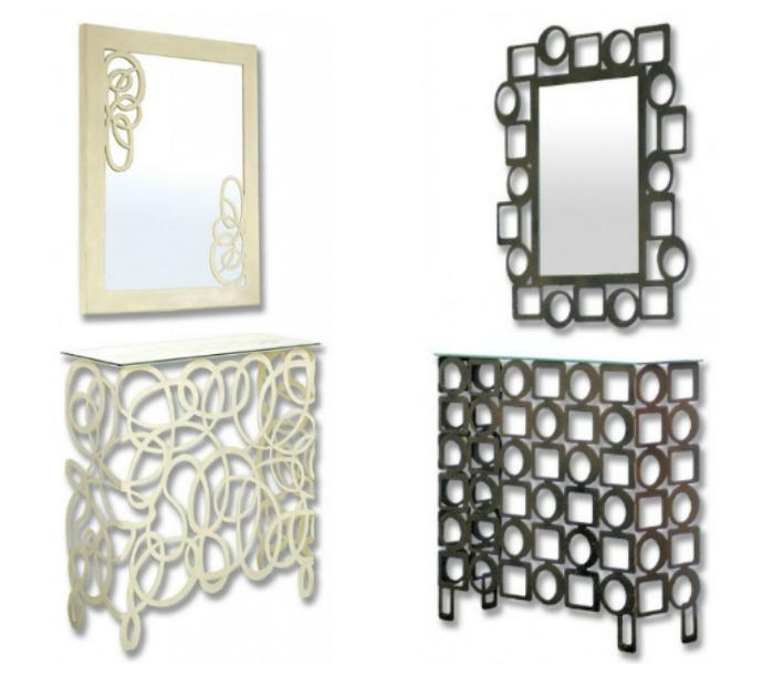 Muebles de entrada y muebles de recibidores modernos - Forja hispalense ...