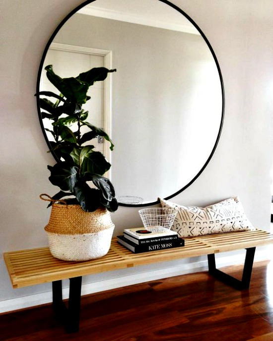 Muebles de entrada y muebles de recibidores modernos - Adornos de pared de forja ...