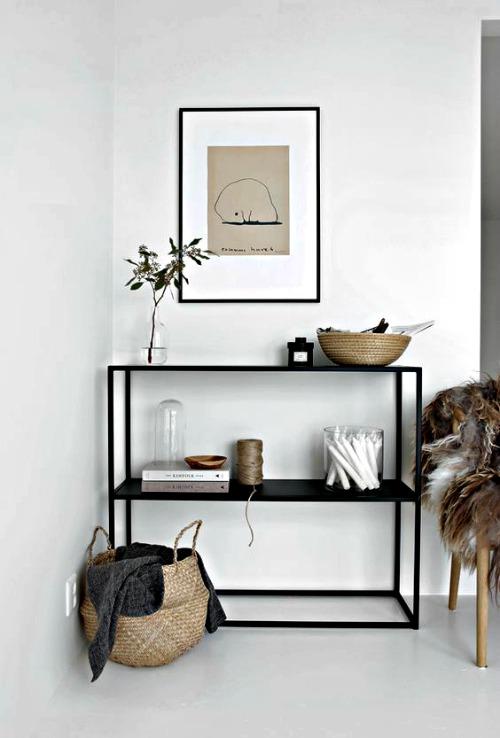 Muebles de entrada y muebles de recibidores modernos - Muebles en forja ...