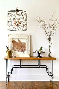 Muebles de entrada y muebles de recibidores modernos forja hispalense - Muebles de entrada originales ...