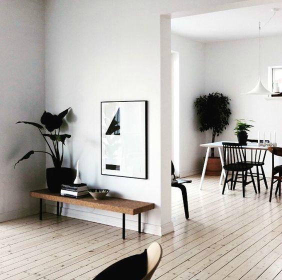 Muebles de entrada y muebles de recibidores modernos for Living de madera modernos