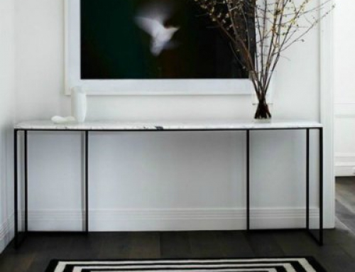 muebles de entrada modernos