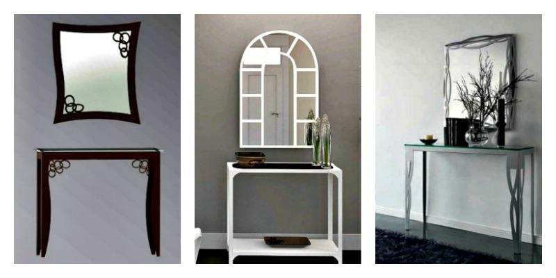 Muebles de entrada y muebles de recibidores modernos for Entradas muebles modernos