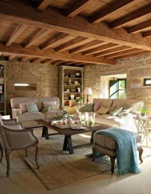 C mo decorar salones r sticos forja hispalense - Como decorar salones ...