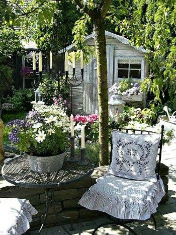 muebles de jardin forjados