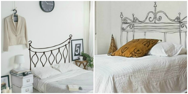 Pensando en comprar cabeceros de cama de 135 forja blog - Vinilo cabecero cama ...