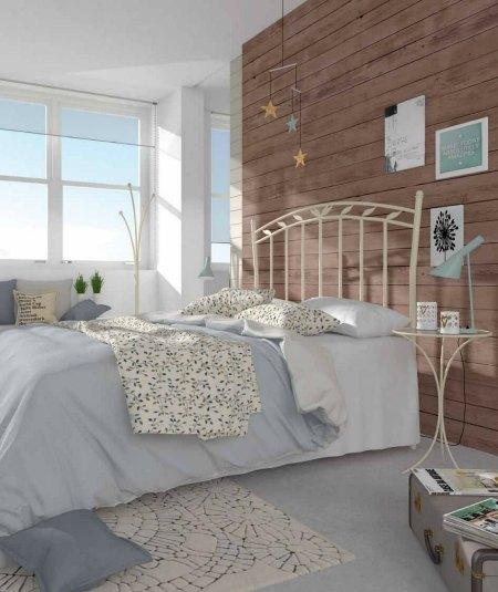 Ideas para decorar dormitorios r sticos forja hispalense - Cabeceros de cama rusticos ...