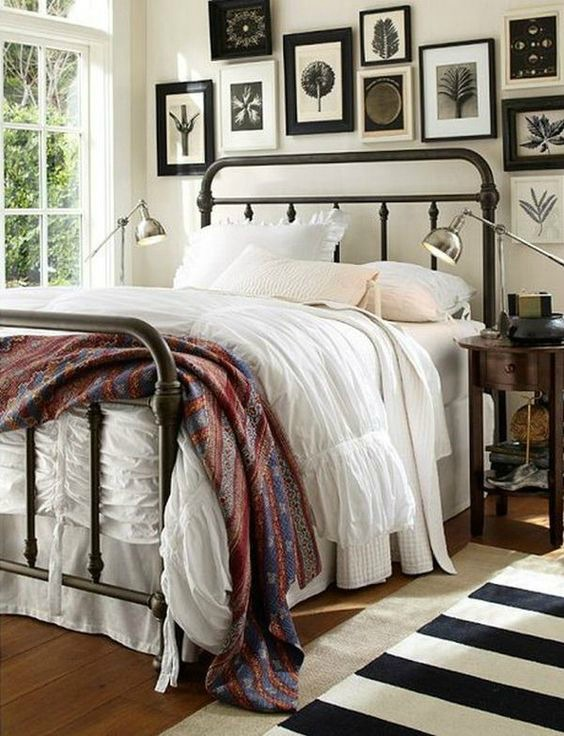 Matrimonio Bed Xenia : Ideas para decorar dormitorios rústicos forja hispalense