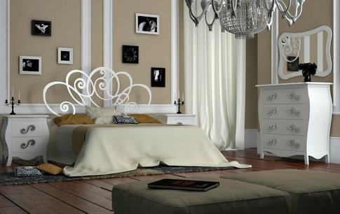 6 ideas de cabeceros cama originales matrimonio juvenil - Cabezales de forja modernos ...