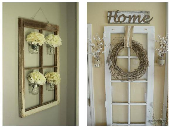 C mo usar muebles de recibidor vintage forja blog for Muebles con puertas viejas