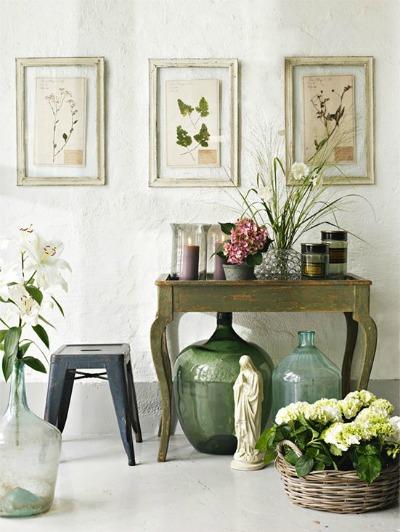 C mo usar muebles de recibidor vintage forja blog for Muebles con encanto online
