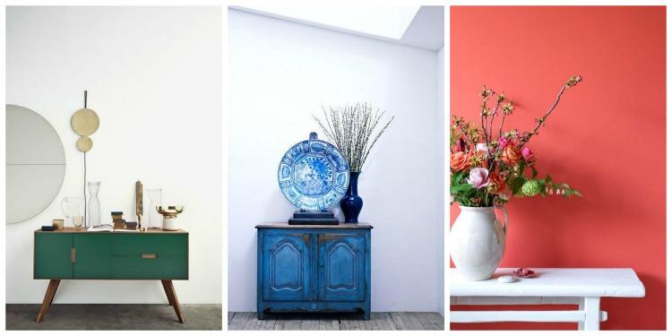 C mo usar muebles de recibidor vintage forja blog - Muebles de recibidor ...