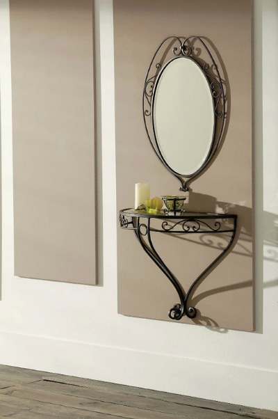 Recibidores modernos peque os decoraci n y usos forja hispalense - Recibidores pequenos modernos ...