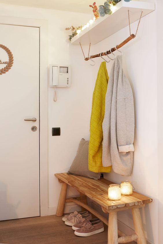 C mo decorar un recibidor peque o forja hispalense - Muebles recibidor pequeno ...
