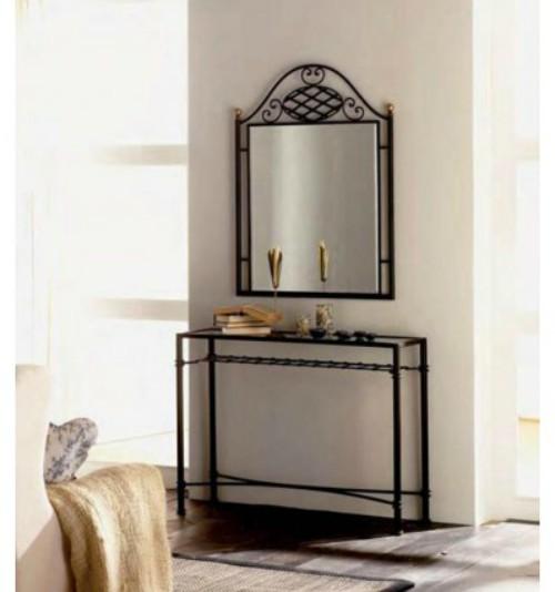 Mejores muebles para decorar la entrada de la casa forja - Muebles para la entrada de la casa ...
