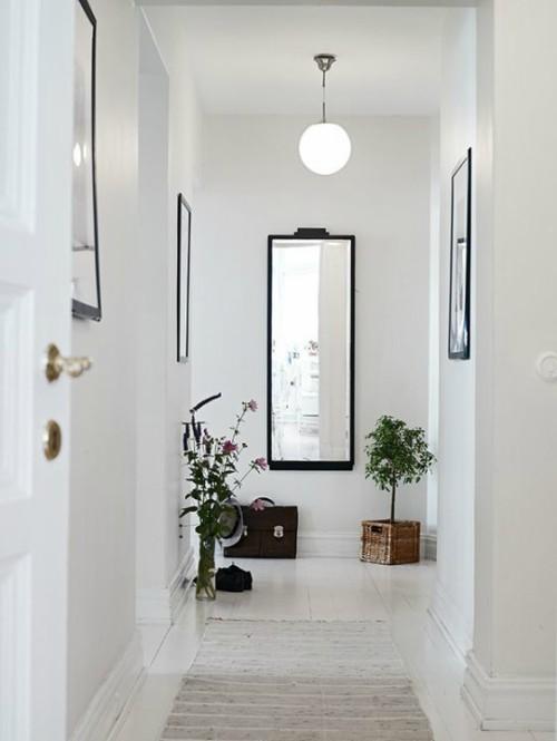 Recibidores modernos con espejos de recibidor en forja for Espejos decorativos para entradas