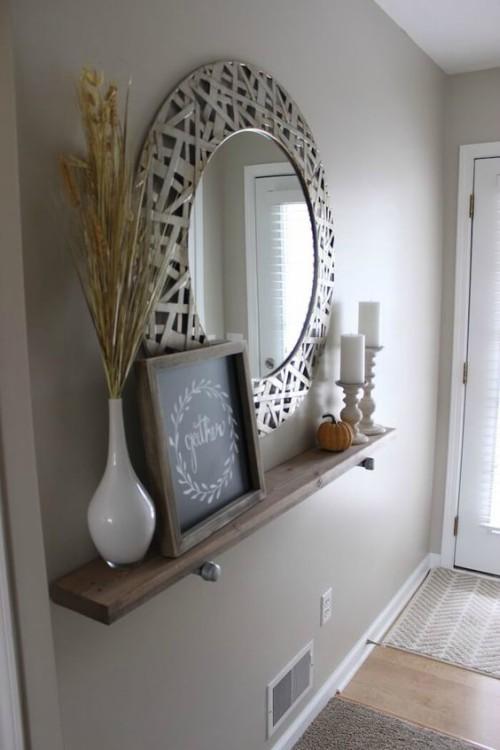Mejores muebles para decorar la entrada de la casa forja - Muebles de entrada ...