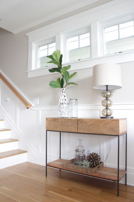 La decoracion de entraditas y recibidores modernos forja - Muebles recibidor modernos ...