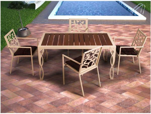 Las mejores mesas de aluminio para jard n y terraza - Mesas de jardin de aluminio ...