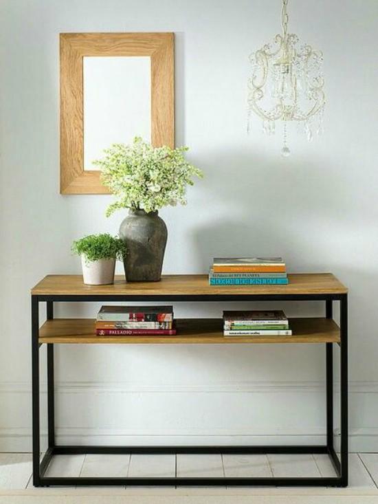 C mo usar muebles de recibidor vintage forja blog - Muebles de entrada vintage ...
