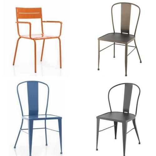 C mo decorar con mesas y sillas de comedor forja - Sillas de forja para comedor ...