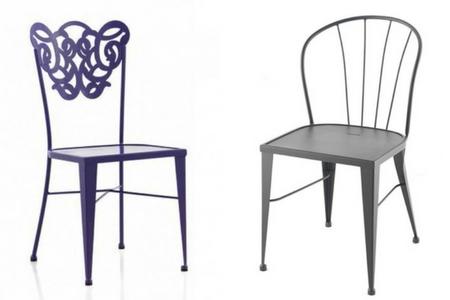 Qu sillas de comedor comprar forja hispalense blog - Sillas de forja para comedor ...
