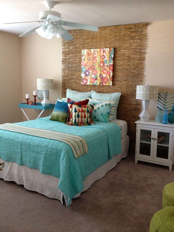 Cabeceros originales c mo decorar una cama matrimonio - Camas decoradas ...