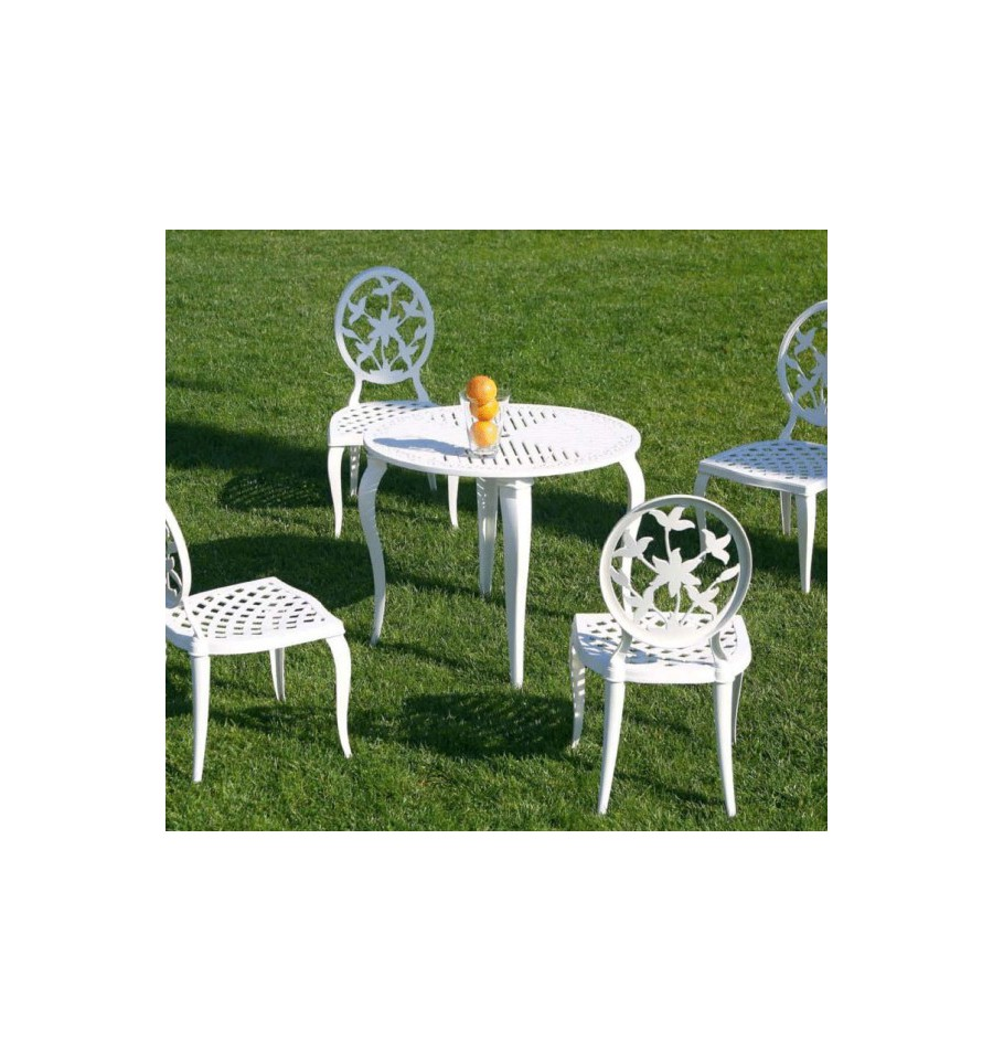 La forja en los muebles de terraza elegancia y el mejor for Mobiliario para jardin y terraza