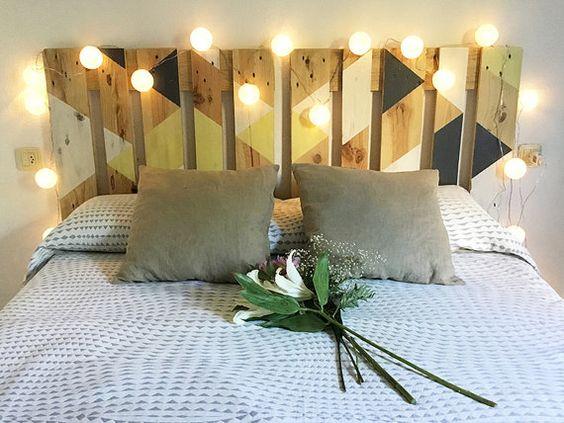 Ideas para decorar con cabeceros de cama originales - Ideas cabecero cama originales ...