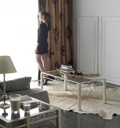 mesas de centro rústicas