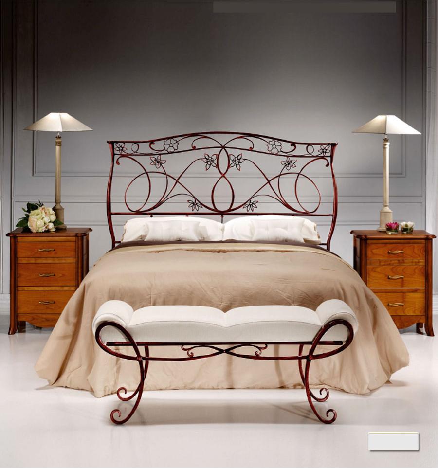 Cabeceros r sticos originales para tu dormitorio forja - Cabeceros de forja originales ...
