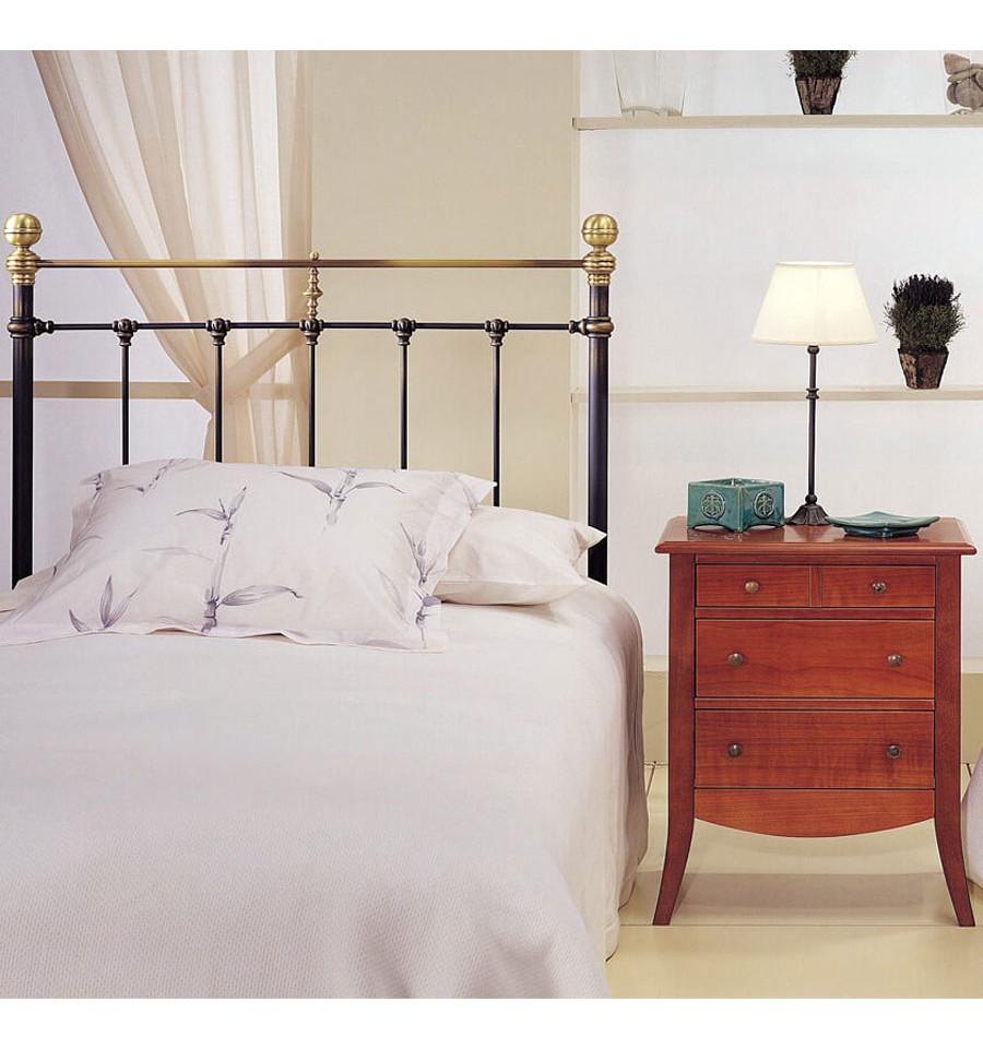 Cabezales de cama antiguos para un dormitorio retro forja hispalense - Cabezales de forja ...