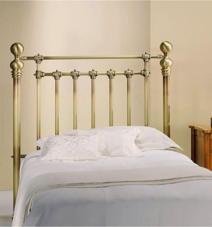 Cabezales de cama antiguos para un dormitorio retro forja hispalense - Cabeceros de cama antiguos ...