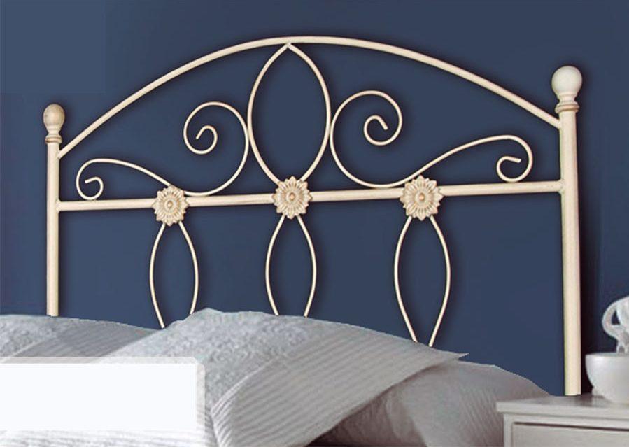 Cabeceros dorados para un dormitorio glam