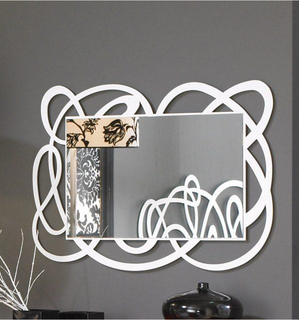 Decoración de paredes - Espejo de forja Algarabia