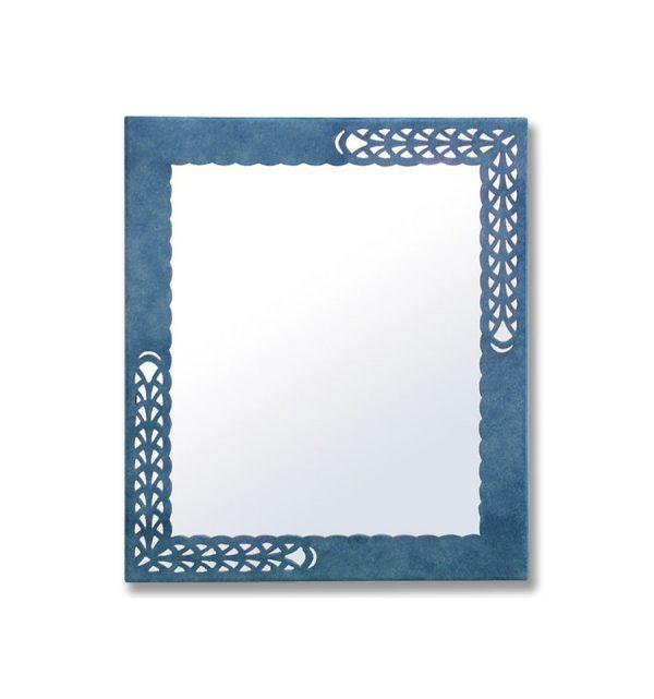 Decoracion de baños - Espejo de forja Calado