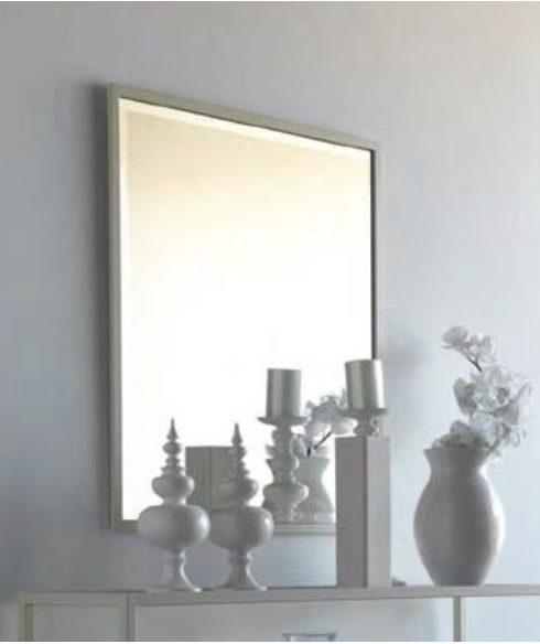 decorar un salon clasico - Espejo de forja París