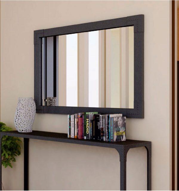 decorar despacho en casa - Espejo industrial Macarena